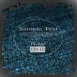 Vector linen fiber texture Royalty Free Stock Photos