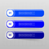 Vector lines arrows infographic. Stock Image