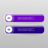 Vector lines arrows infographic. Template for diagram, graph, presentation and chart. Business concept with 2 options, parts, steps or processes Royalty Free Stock Image