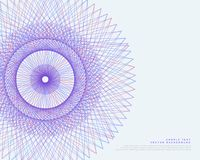 Vector lines spirograph vector background. Vector lines spirograph background vector Stock Photo