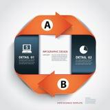 Vector linhas do papel da etapa do negócio e molde do projeto ilustração royalty free