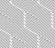 Vector linhas geométricas patte do sumário simples sem emenda do fundo ilustração stock