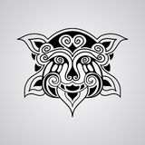 Vector lion tattoo sketch Royalty Free Stock Photo