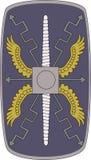 Vector lo schermo della guardia pretoria su fondo bianco royalty illustrazione gratis