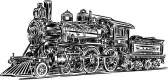 Vector-locomotive Royalty Free Stock Photo