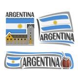 Vector logo Argentina Stock Photos