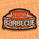 Vector logo for Barbecue stock illustration