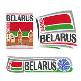 Vector logo for Belarus Royalty Free Stock Photo