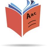 Vector Logo book Royalty Free Stock Photos