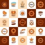Vector logo bread Stock Photos