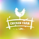 Vector Logo. Chicken Farm Stock Photo