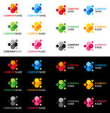 Vector logo collection Royalty Free Stock Photo