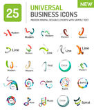 Vector logo collection Stock Images