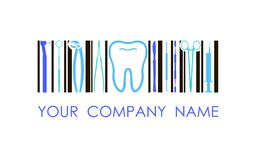 Vector logo for dental company, clinic, office. Concept logo. Vector logo for dental company, clinic, office. Branding concept Royalty Free Stock Photography