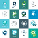 Vector logo dentistry Stock Images