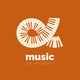 Vector logo design Stock Photography