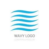 Vector logo design Royalty Free Stock Photos