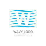 Vector logo design Royalty Free Stock Image