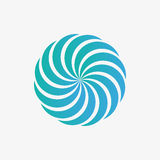 Vector logo design element. Abstract, whirl, swirl Stock Images