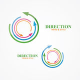Vector logo design element. Creative, modern, Royalty Free Stock Images