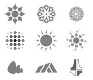 Vector logo and design elements Royalty Free Stock Images