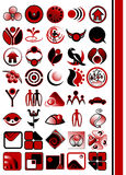 Vector logo  design elements. Vector illustration of logo and design elements Stock Photography