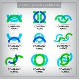 Vector logo design royalty free illustration