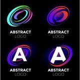 Logo design elements set royalty free stock photography