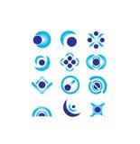 Vector logo design elements Stock Photo