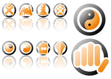 Vector logo and design symbols Stock Image