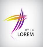 Vector Logo Design Template. Abstract Colorful Stock Photos