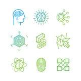 Vector logo design templates Stock Photography