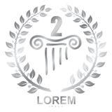 Vector Logo drawing. royalty free illustration