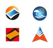 Vector logo element abstract set icon Stock Photos
