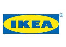 Ikea Logo. Vector logo of the famous Swedish company Ikea, famous for modular furniture. Vector format available royalty free illustration