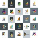 Vector logo Finance Royalty Free Stock Photos
