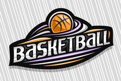 Free Vector Logo For Basketball Stock Photo - 199170290