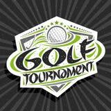 Vector logo for Golf Tournament