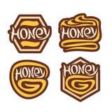 Vector logo Honey Stock Image