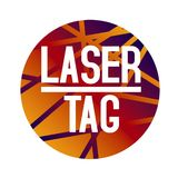 Vector logo for laser tag and airsoft stock images