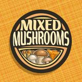 Vector logo for Mushrooms Stock Images