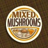 Vector logo for Mushrooms Stock Photos