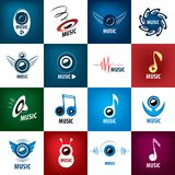 Vector logo music Royalty Free Stock Images