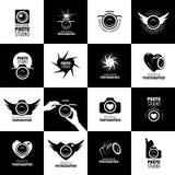 Vector logo for photographer Stock Image