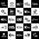 Vector logo for photographer Stock Photo