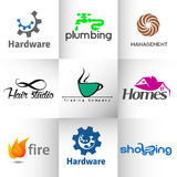 Vector logo Royalty Free Stock Images