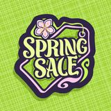 Vector logo for Spring Sale Stock Images