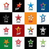 Vector logo star Royalty Free Stock Images