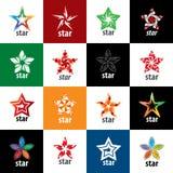 Vector logo star Stock Photo