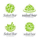 Vector logo template. Salad Bar. Vector illustration Stock Images